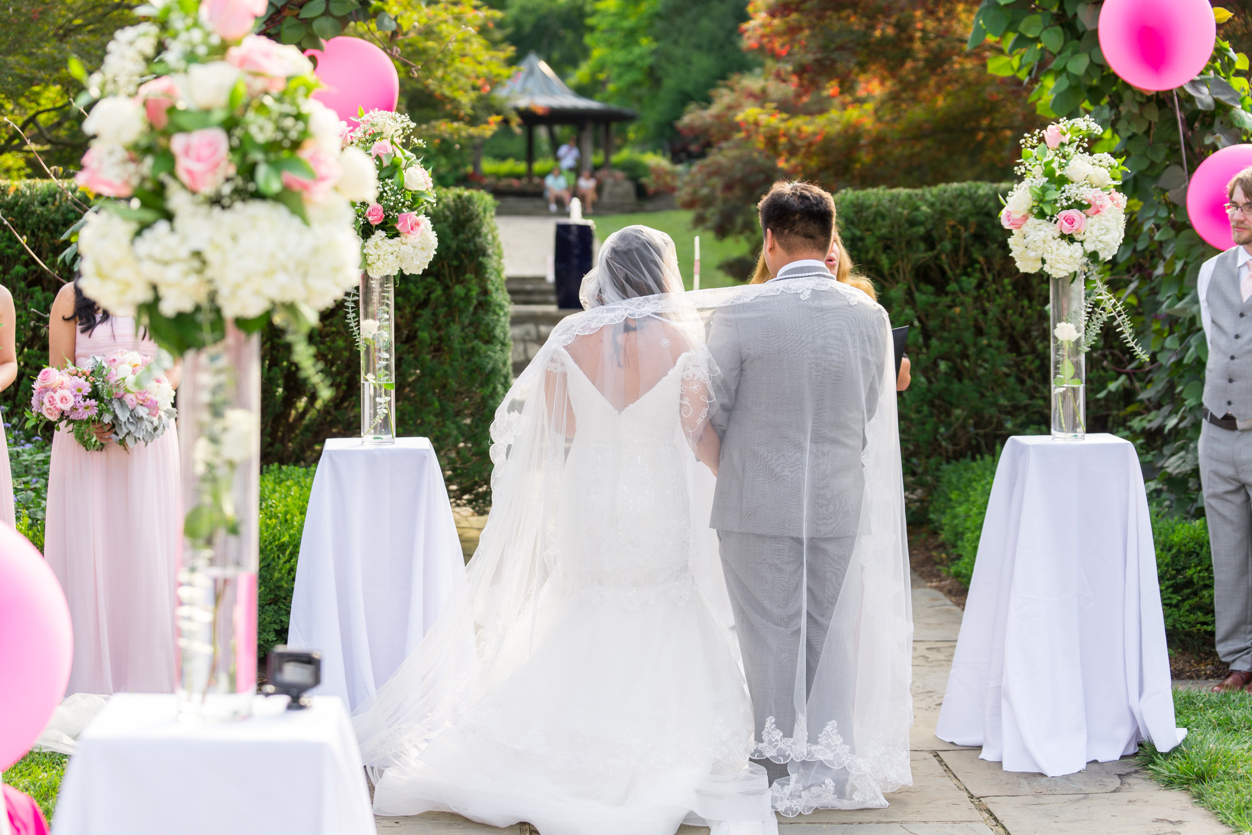 Filipino wedding at Brookside Gardens