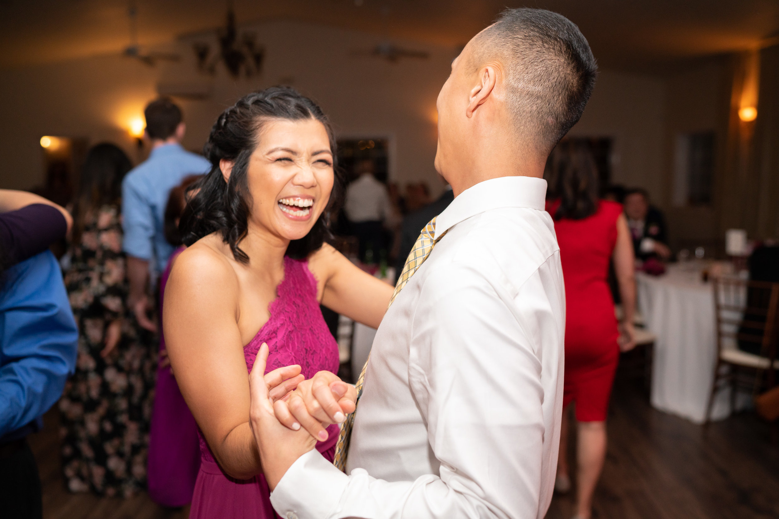 Wedding reception photos at Harvest House in Leesburg Virginia