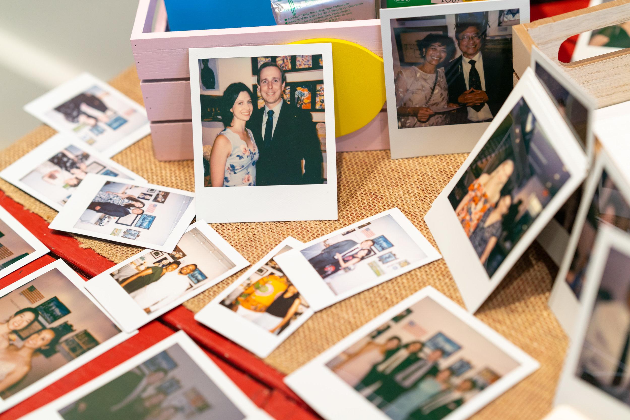 Kodak film camera at a washington dc wedding