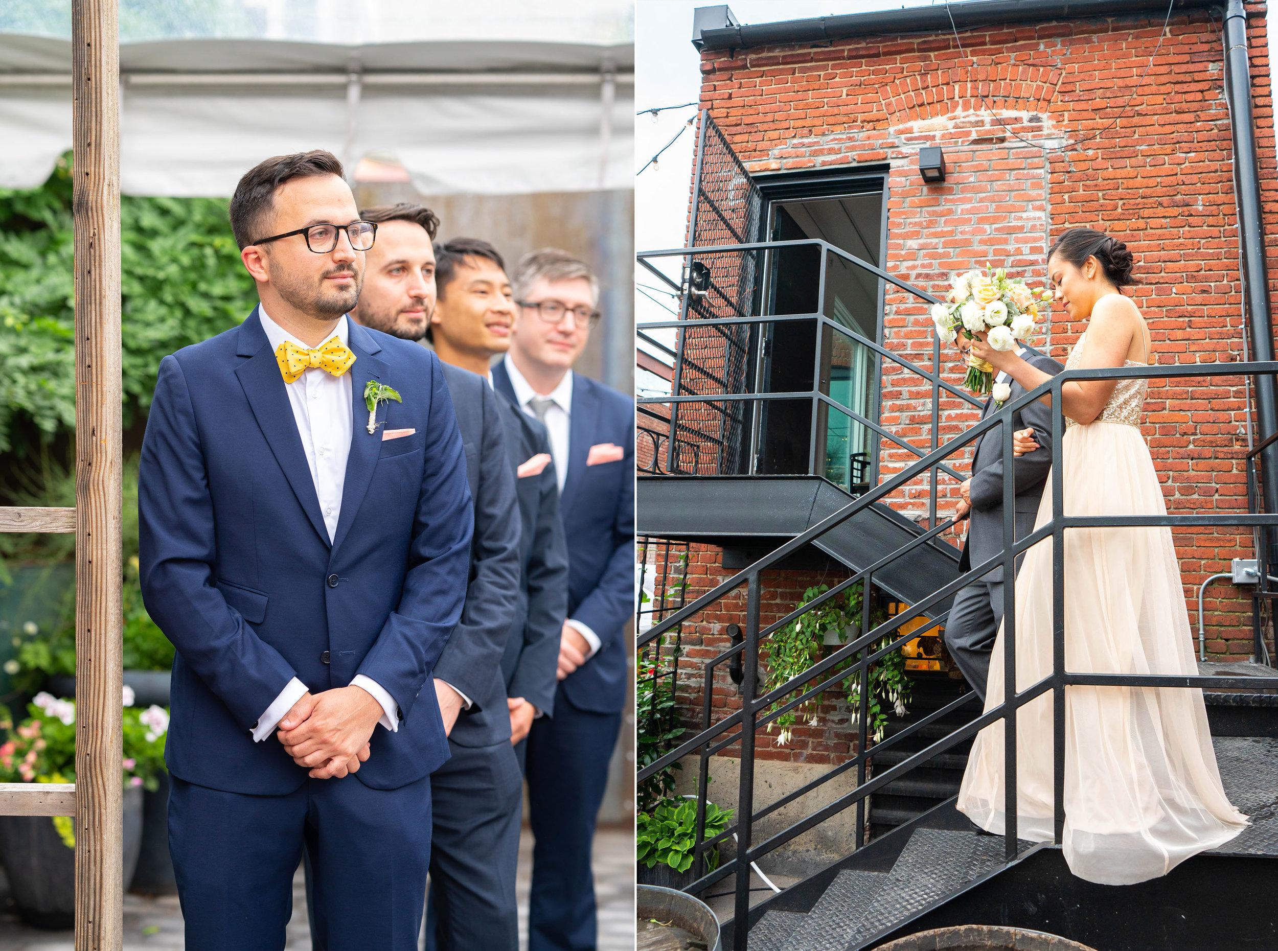 Urban wedding venue in DC Gallery OonH by Jessica Nazarova Photography