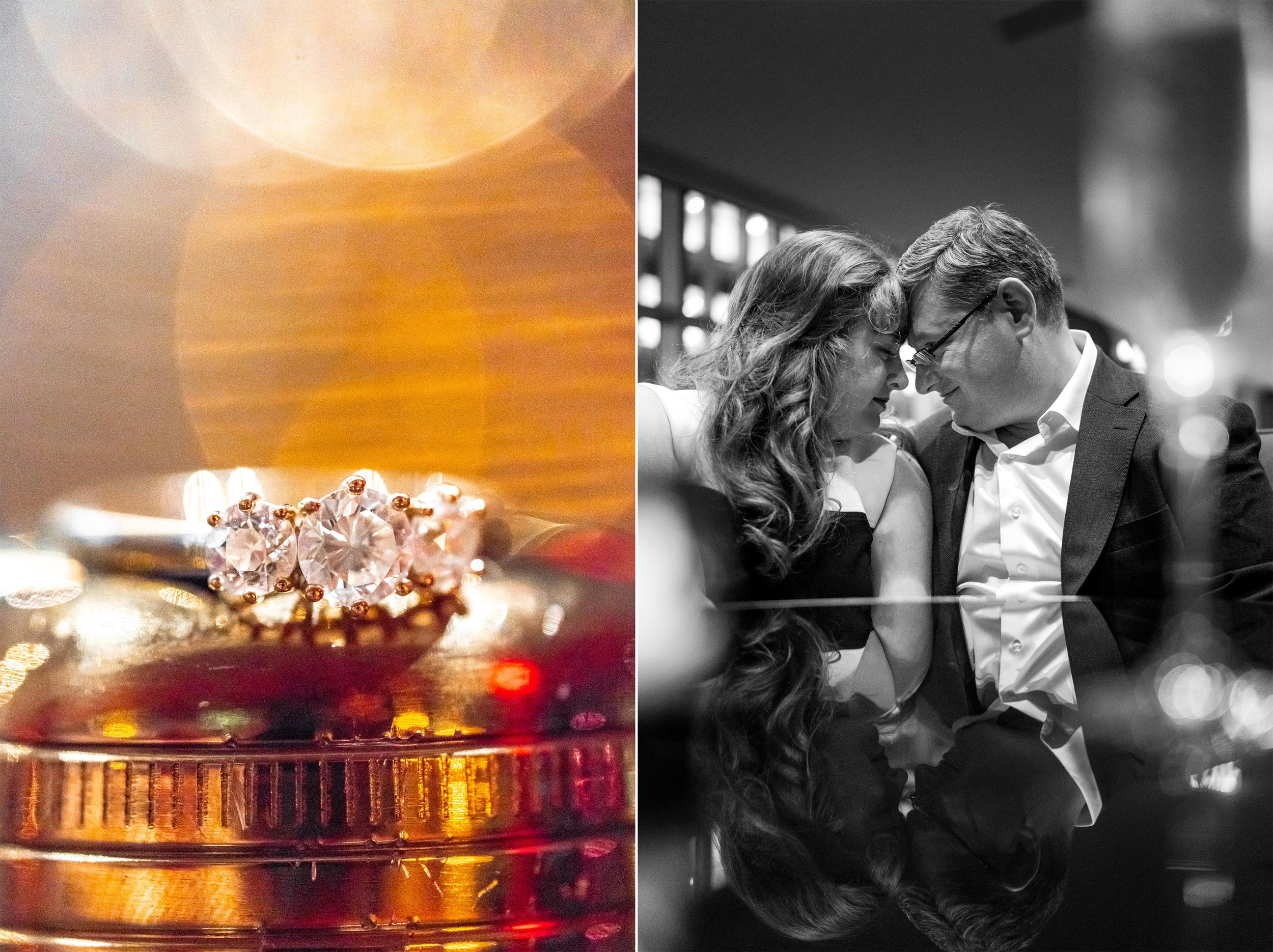 Wolfgang Puck The Source restaurant engagement photos