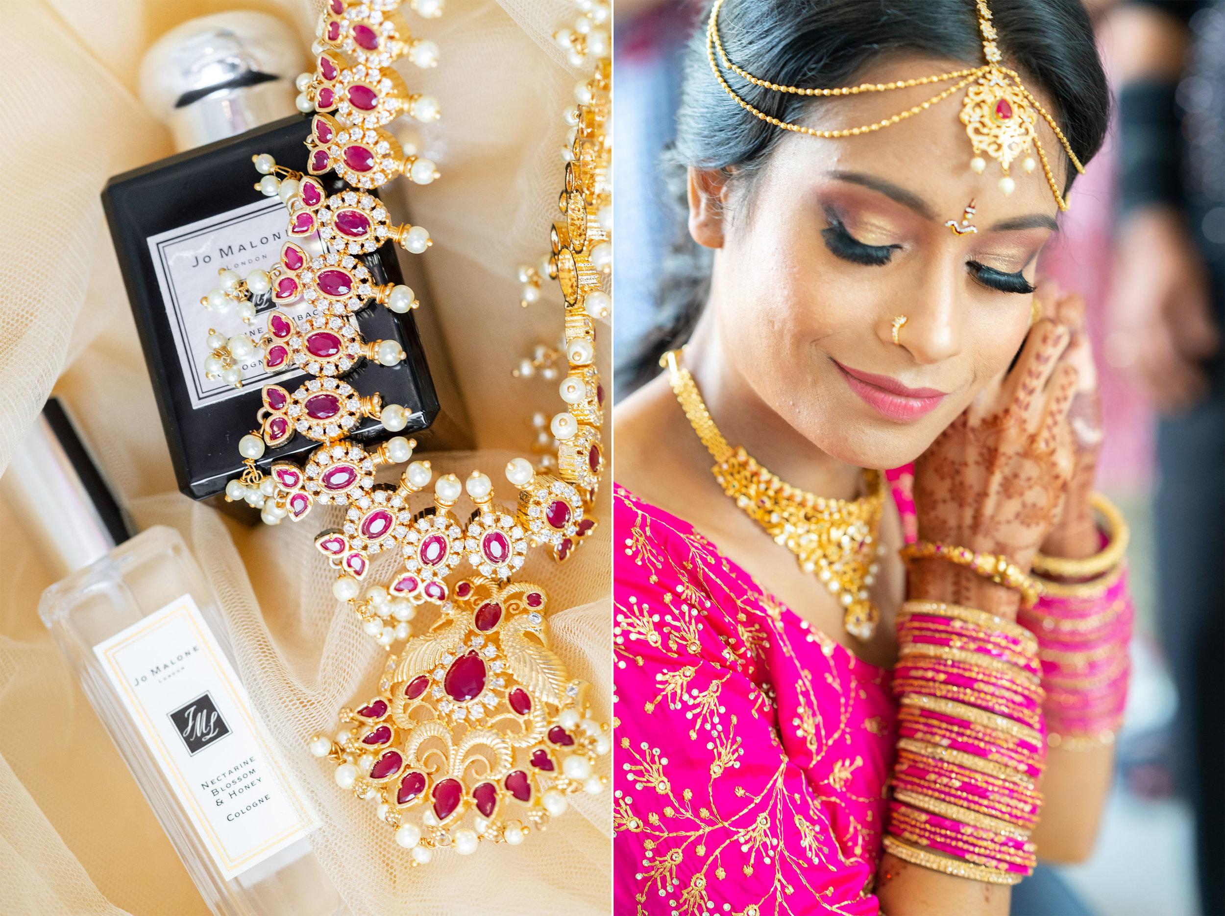indian wedding detail photos from bethesda north marriott