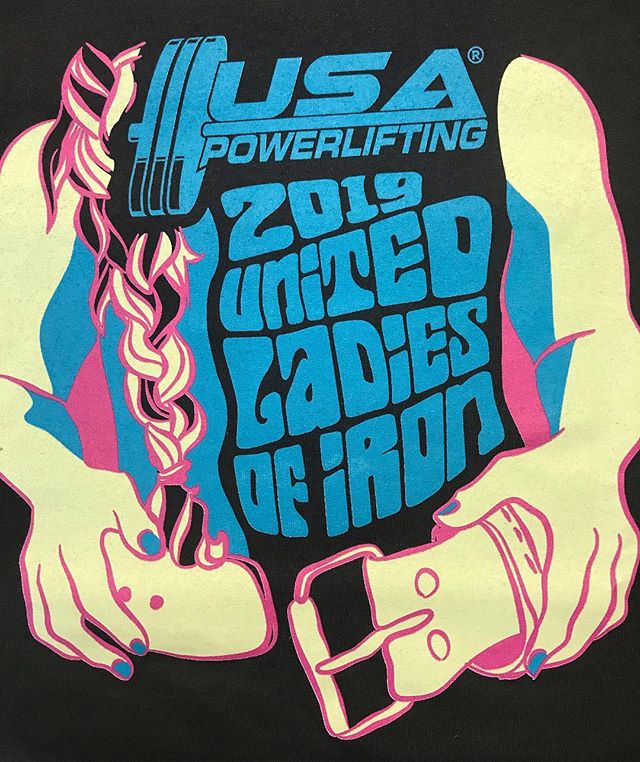 Good luck to all the lifters tomorrow at the @usapowerlifting @usa_powerlifting_mn 2019 MN Ladies of Iron at @american.strength  Doors open at 8, $10 admission, 12 and under free! This meet is part of the United Ladies of Iron and there will be 429 women lifters competing across 11 states Saturday, come out and support the Minnesota athletes!