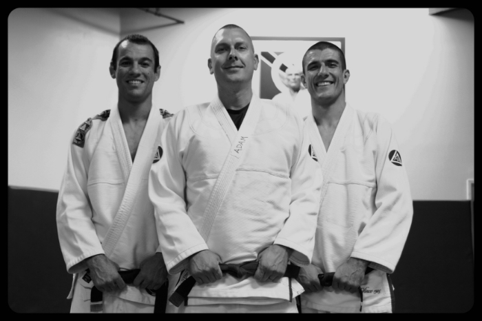 Ryron Gracie, Coach Adam, Rener Gracie: Eugene, Oregons only Certified Training Center