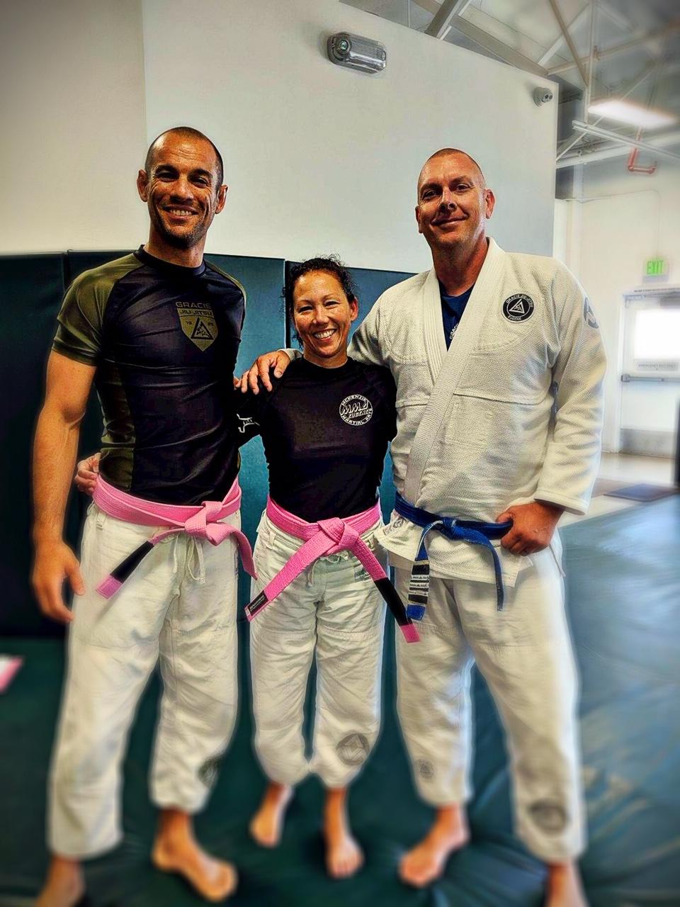 Ryron Gracie, Coach Shannon, Coach Adam