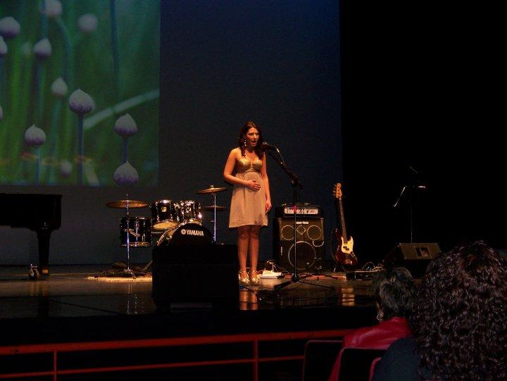 Celena Santa Cruz - Voice Student