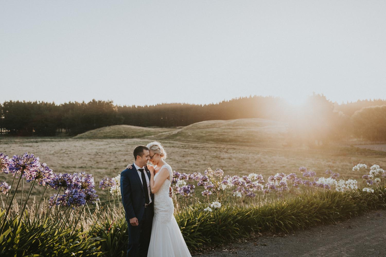 Beautiful sunset at Sudbury wedding venue
