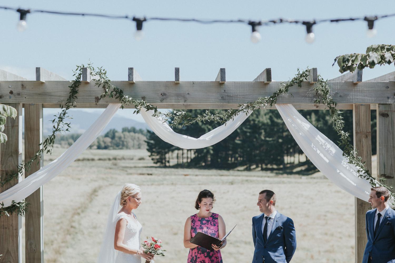 Sudbury wedding ceremony New Zealand