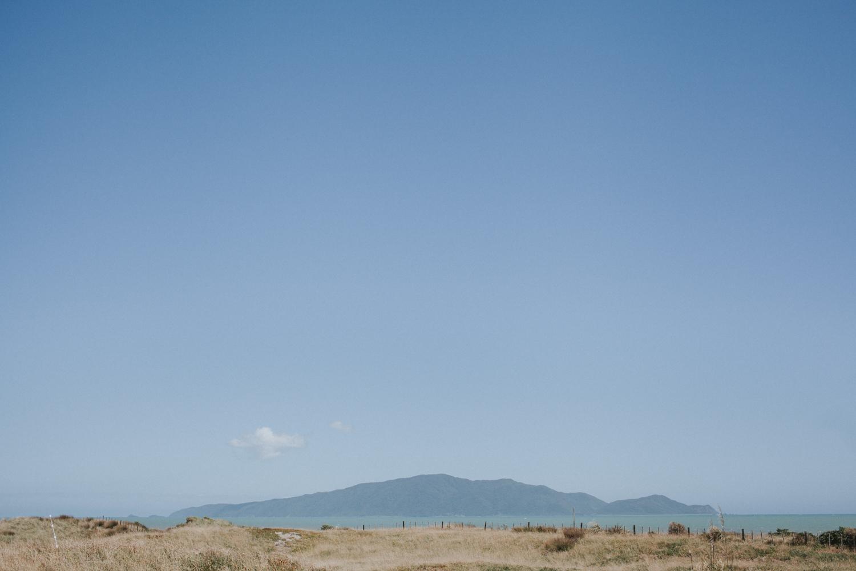 Kapiti Island view from Peka Peka