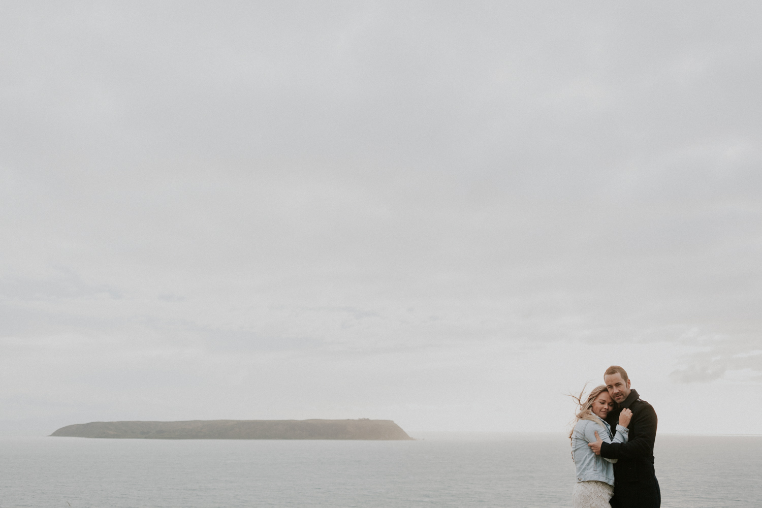 Mana Island, Kapiti Coast engagement session
