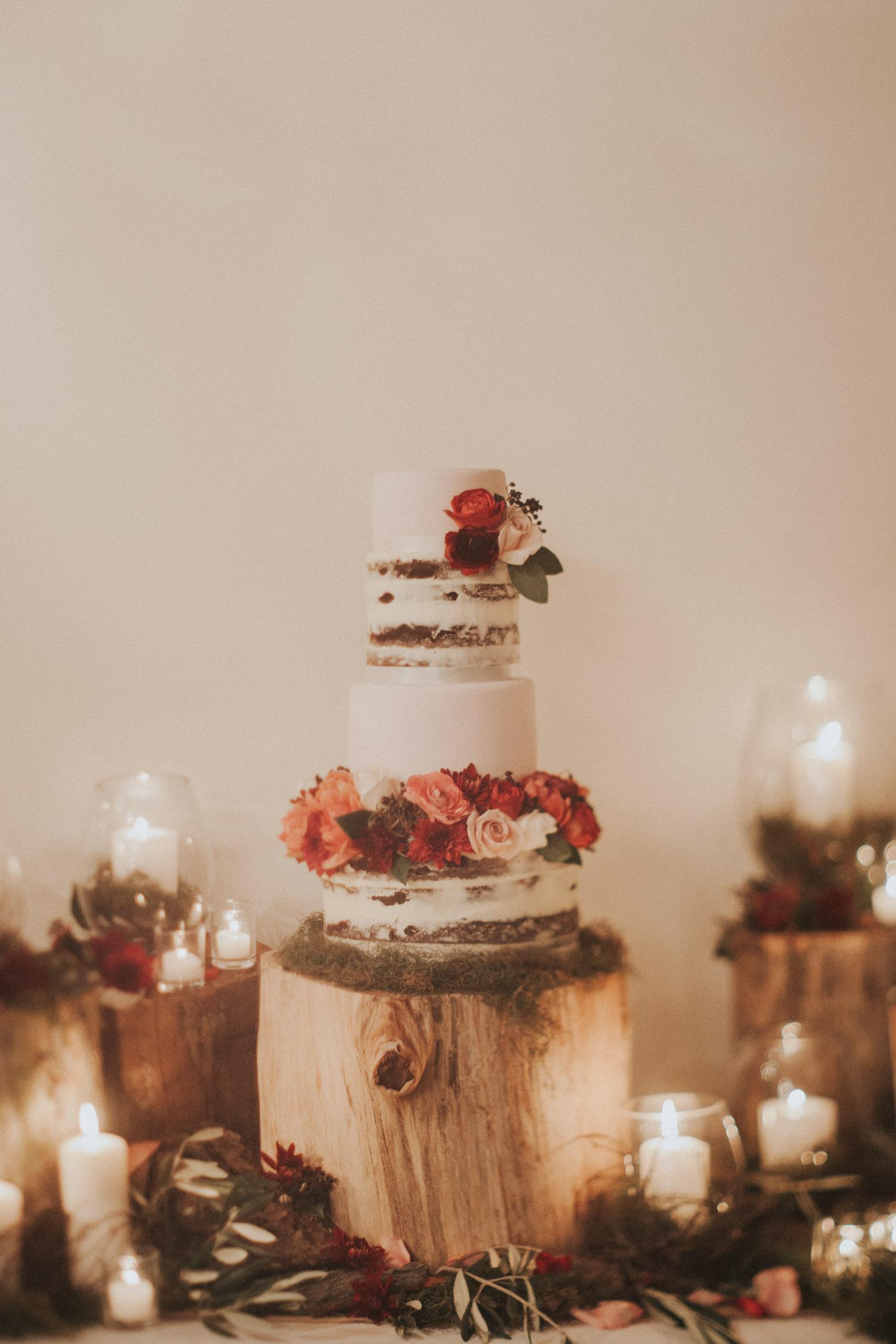 Wedding cake made by Sweet Bakery and Cakery, Wellington