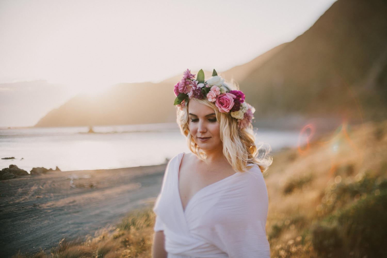 Red Rocks Wellington bridal shoot