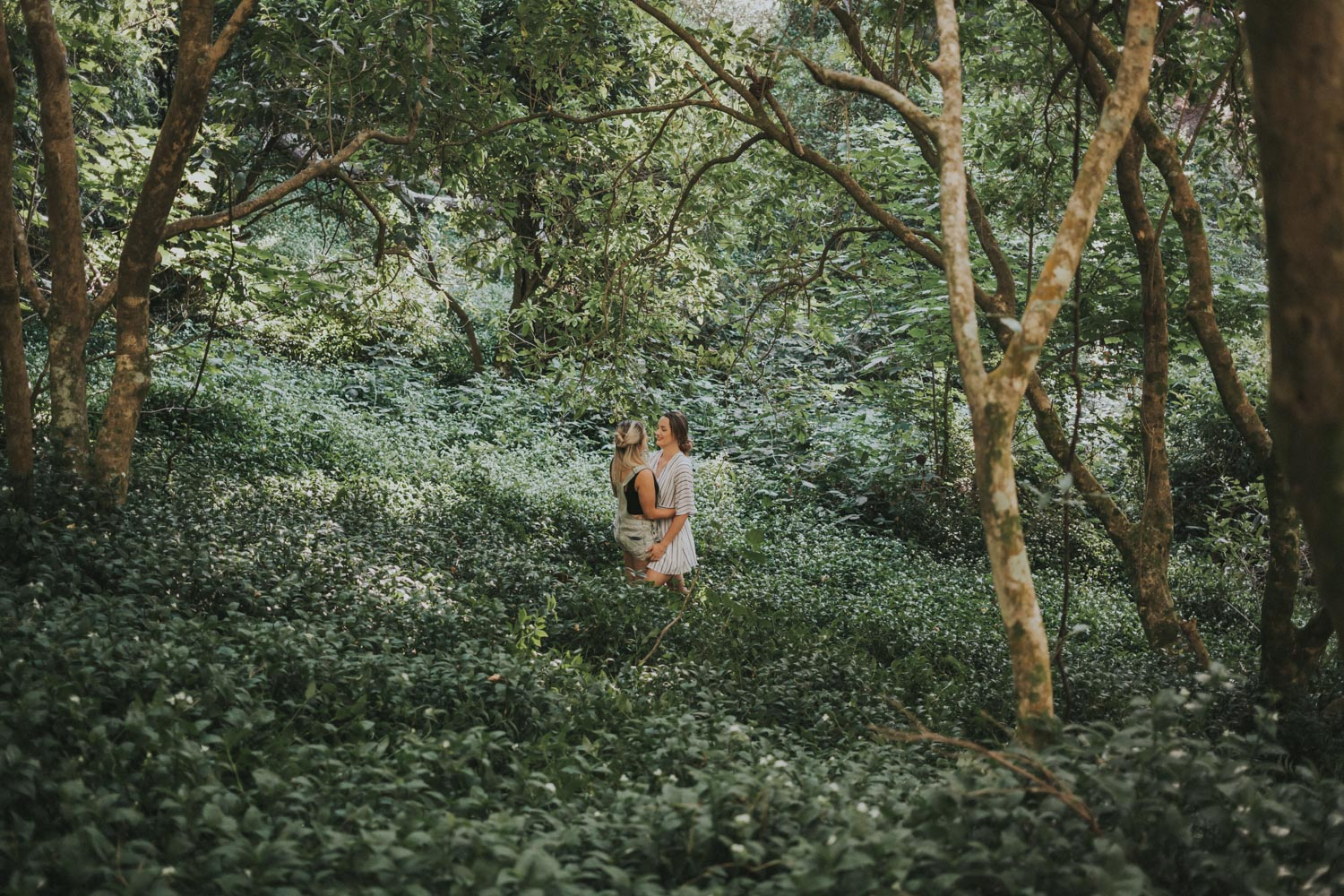 nature engagement shoot