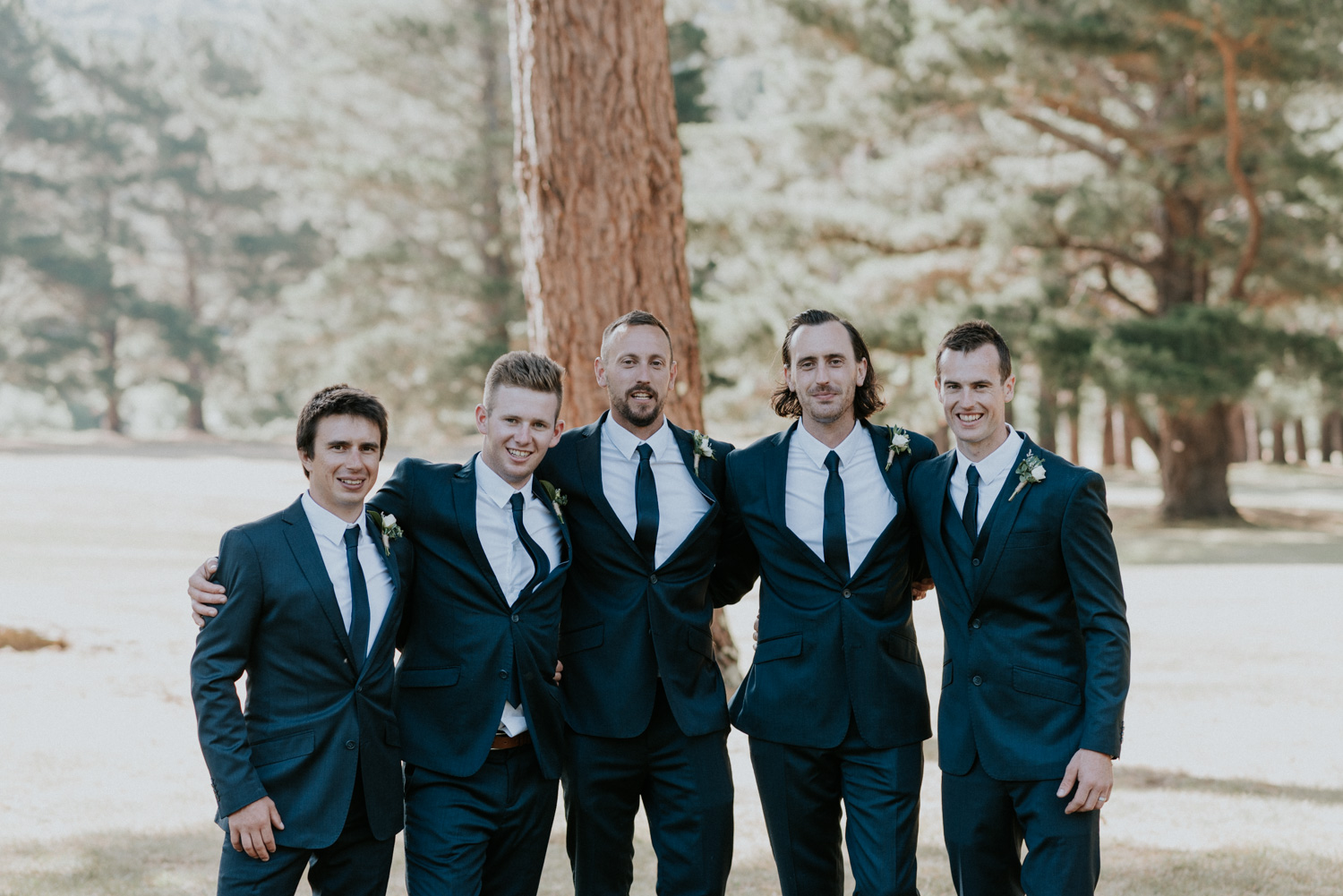 Groom and the Groomsmen