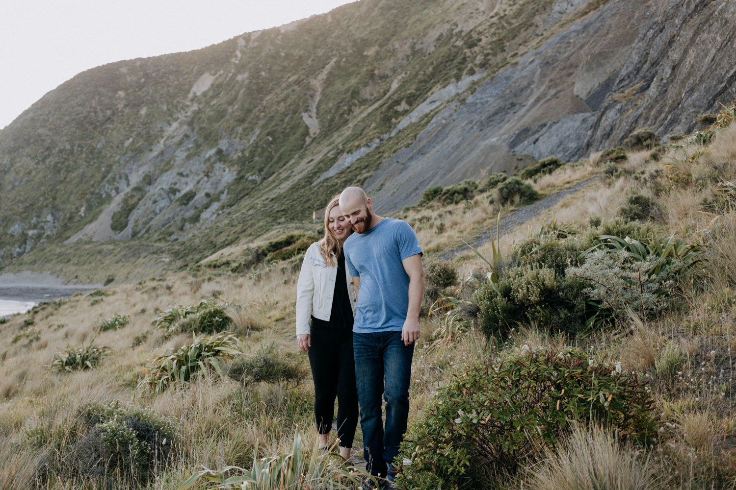 New Zealand engagement shoot