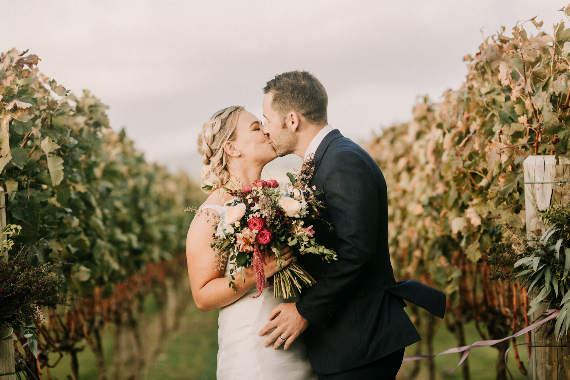 Vinyard wedding at Poppies Martinborough