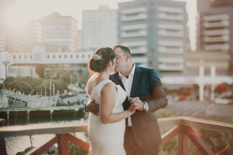 Wellington city wedding