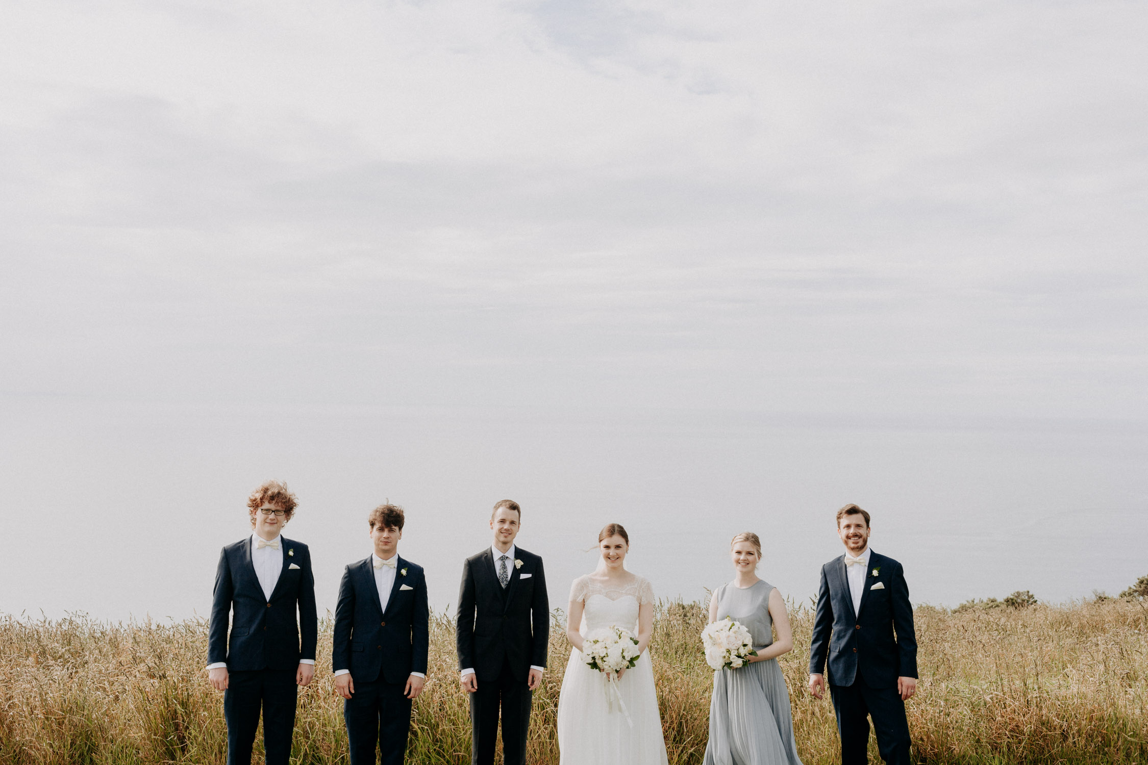 Boomrock bridal party photos