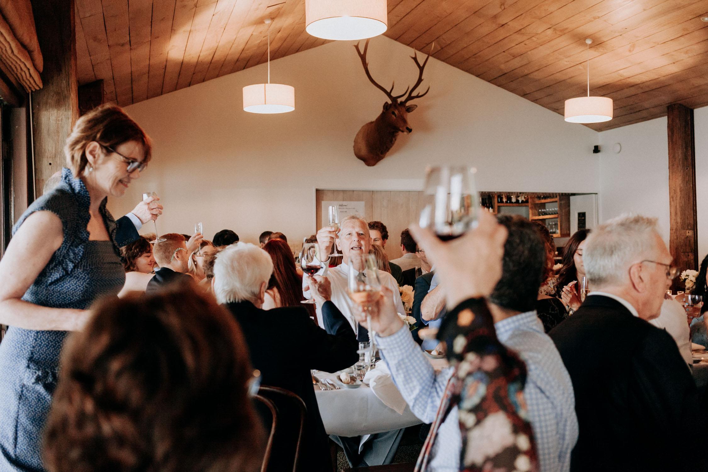 Wedding reception at Boomrock Wellington