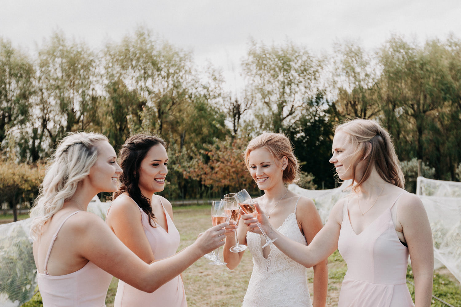 bridesmaid cheers