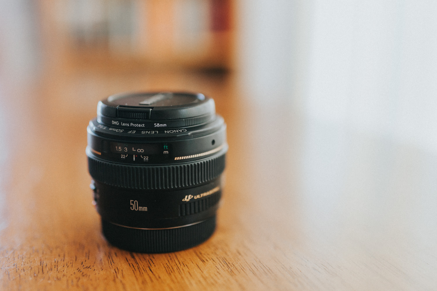 Canon 50mm f/1.4 Lens