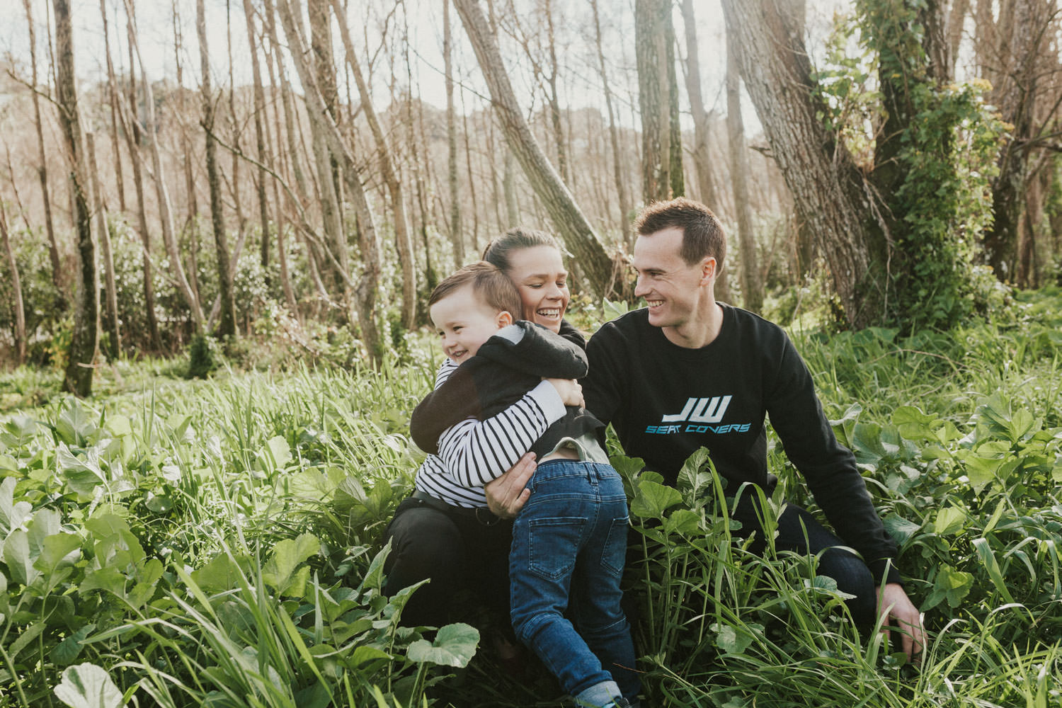 New Zealand family portrait session