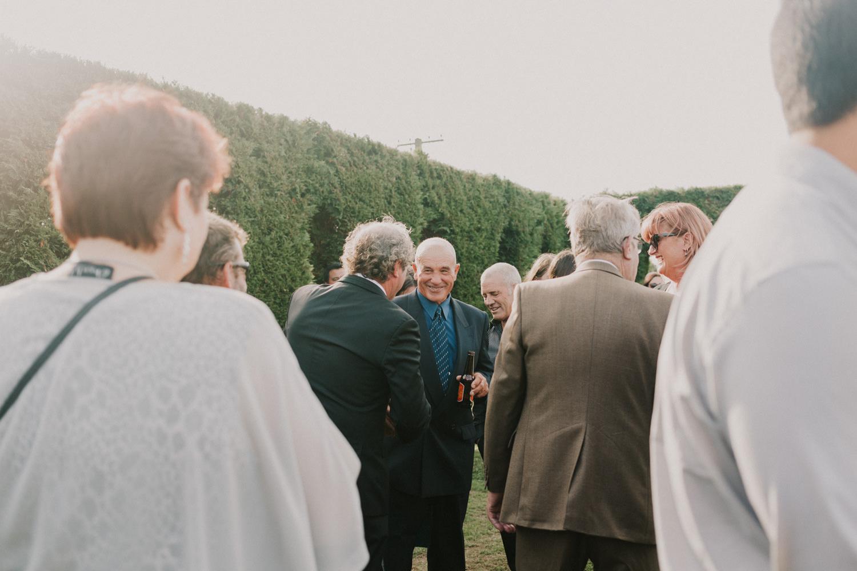 Wellington wedding ceremony