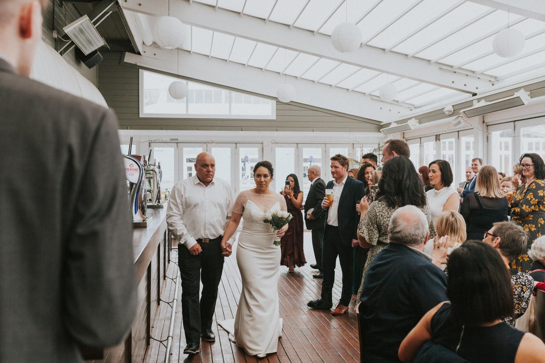 Dockside Wellington wedding venue