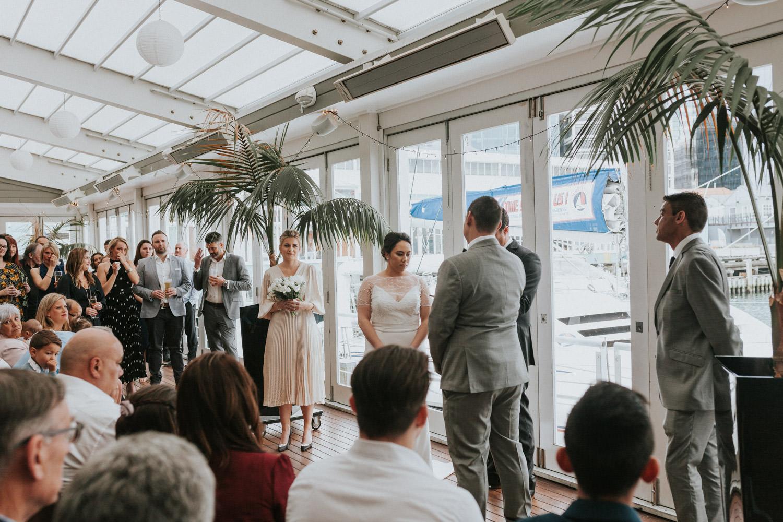 Dockside wedding venue Wellington New Zealand