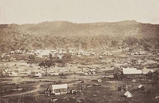 Woolshed Creek Diggings 1855