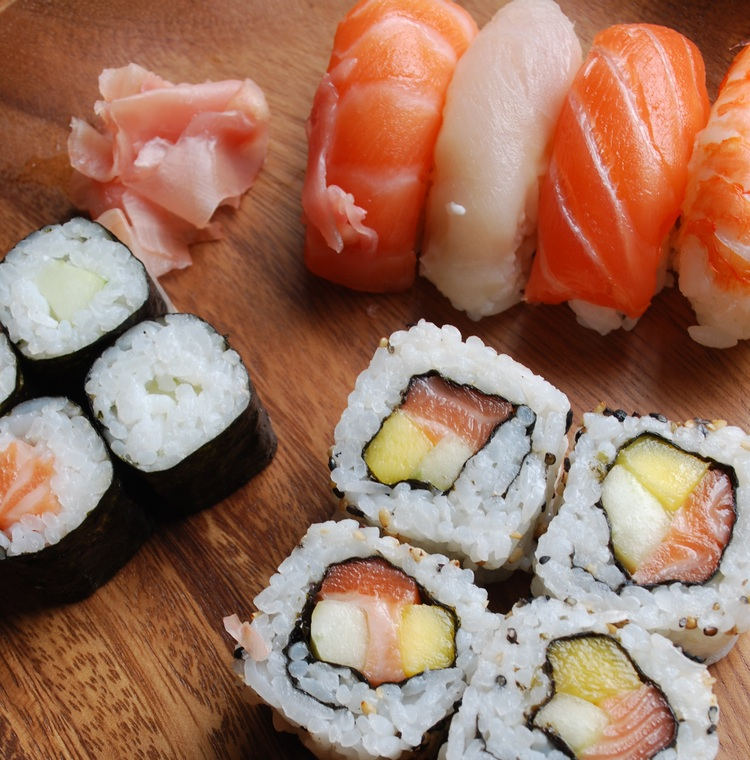 Sushi är inte bara supergott - det är också väldigt nyttig mat!