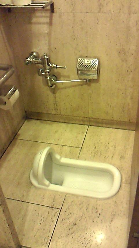 Traditionella japanska toaletter råkar du ut för, förr eller senare.  Foto:浪速丹治 (Creative Commons)