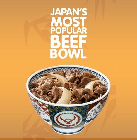 Beef bowl är den vanliga engelska benämningen på japansk  gyudon .
