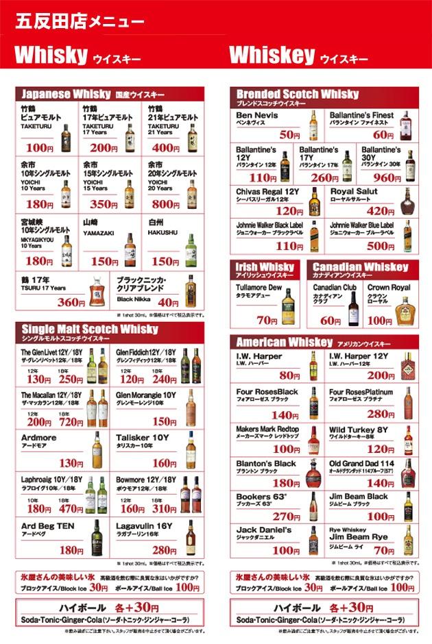 Priserna på en 3 cl stor whiskypinne är definitivt inget att bråka om på Genka Bar.