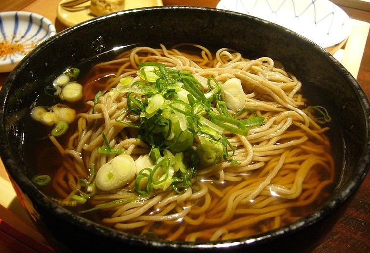 Soba - bovetenudlar - är en riktig japansk klassiker.  Foto: Yusuke Kawasaki (Creative Commons)