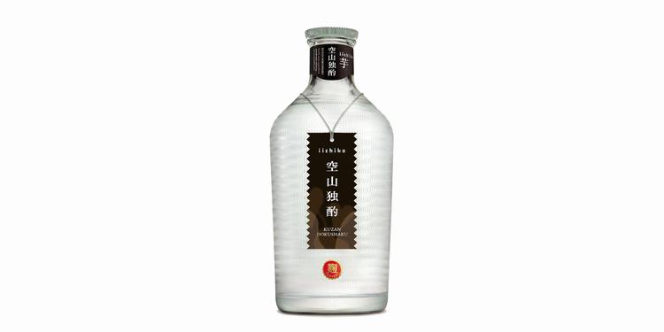 Iichiko är ett av Japans mest berömda shochu-märken - råvaran är korn.