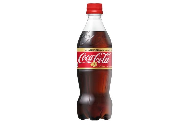 Coca-Cola med smak av ingefära... Som att blanda cola med Ginger Ale, kanske.