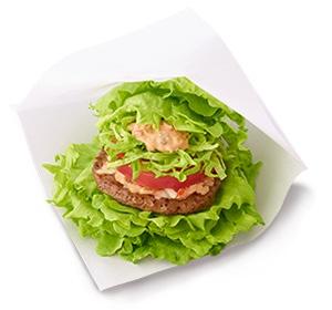 MOS Burger var pionjär med burgare med sallad istället för bröd.