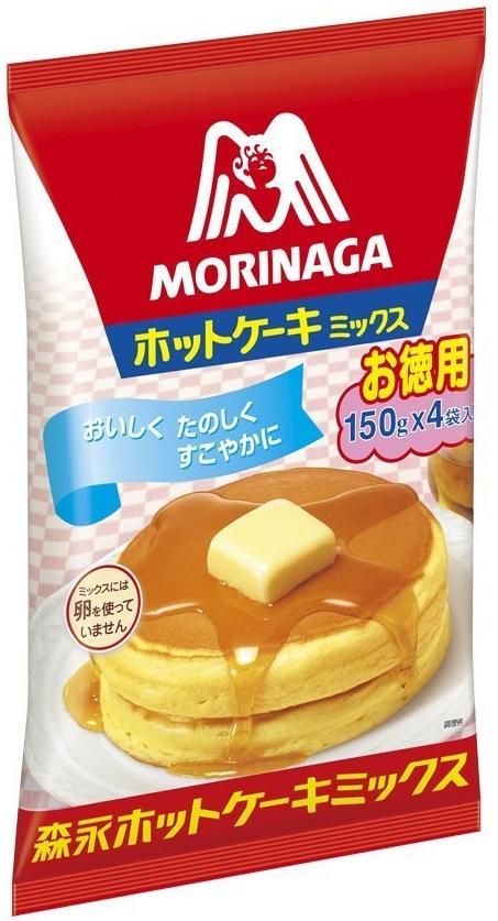 Morinagas pannkaksmix är en storsäljare.  Foto: Morinaga