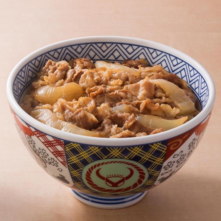 Gyudon är enkel men god mat för en liten peng..  Foto: Yoshinoya