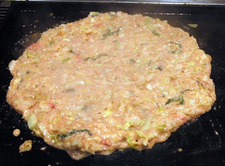 Efter tillagning ser det ut så här; kanske inte världens mest estetiska maträtt.. :)  Foto: Jpatokal, Creative Commons License