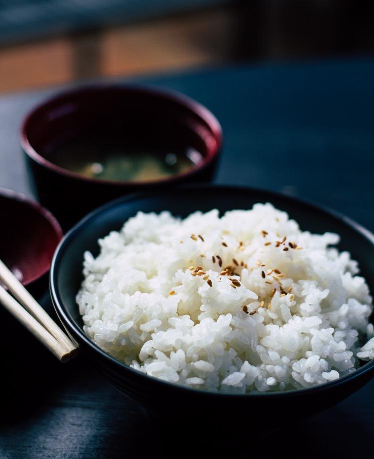 Japans ris är fluffigt och gott..   Foto: Public Domain