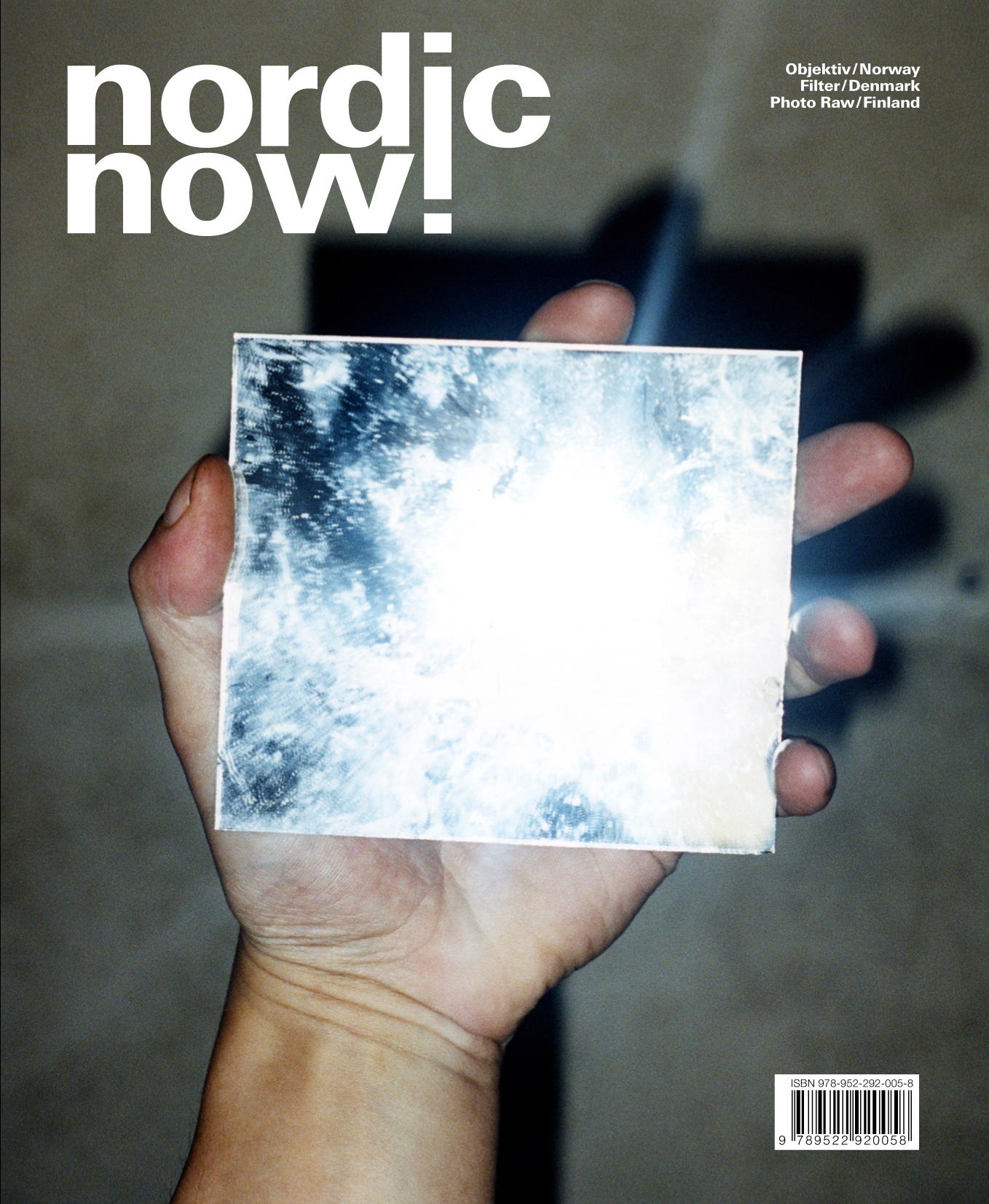 nordic now!     Special issue on Nordic contemporary photography.   The publication nordic now! is the result of a unique collaboration between the photo magazines  Filter  (Denmark),  Photo Raw  (Finland) and the art journal  Objektiv  (Norway). Featuring portfolios by over fifty established and upcoming Nordic artists such as JH Engström, Joakim Eskildsen, Erica Kovanen, Mårten Lange, Nelli Palomäki, RAX, Marie Sjøvold and Jacob Aue Sobol, it provides an extensive overview of contemporary Nordic photography.
