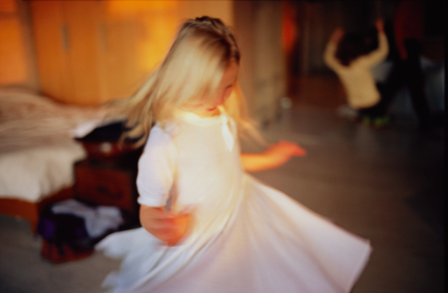 Ava twirling, 2007,  from the book  Eden & After  , 2014 Nan Goldin, Phaidon