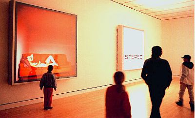 Gallery view of Jeff Wall's Stereo