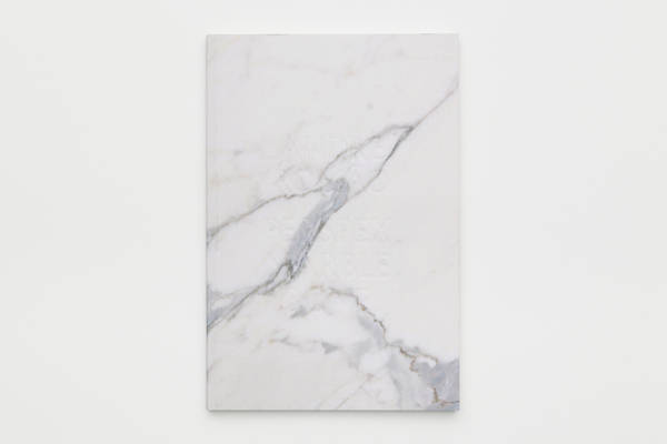 Perspex, Marble, Bone, André Rom ão, 2014