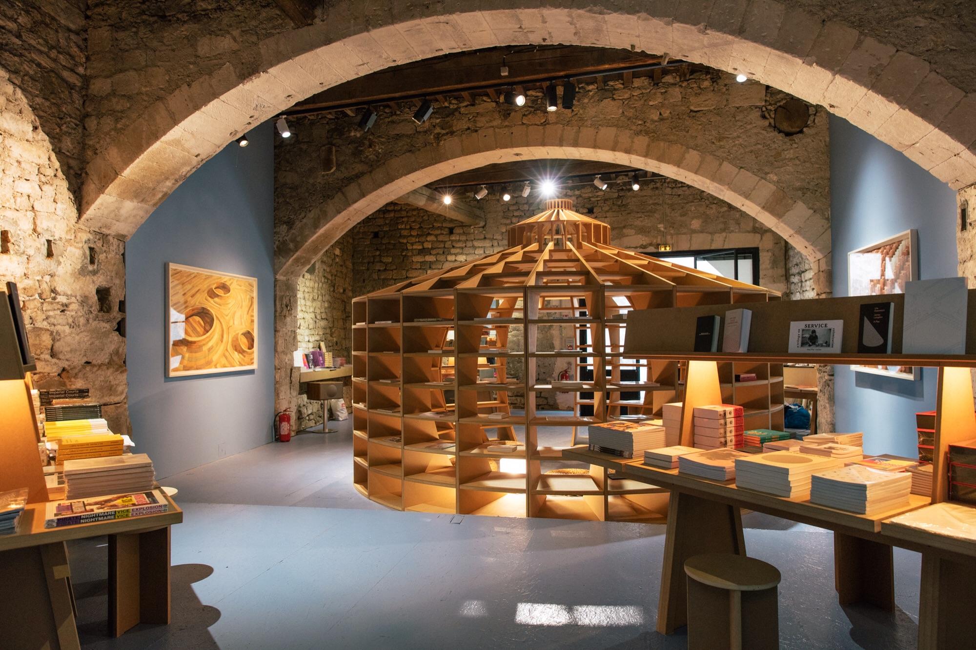 All imagesCourtesy of the LUMA Foundation, Offprint Library Arles, LUMA Arles 2016  Images (c) Victor Picon