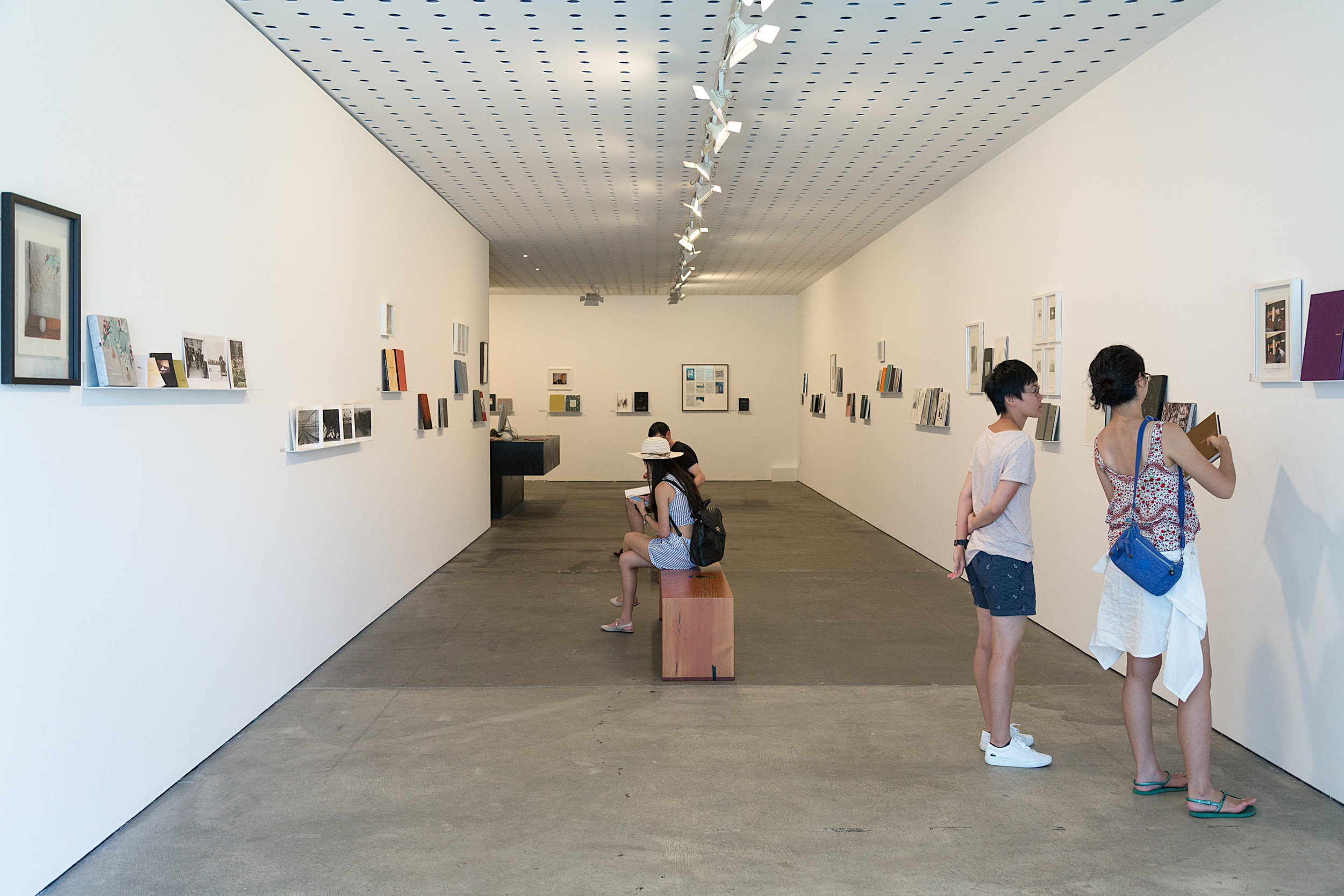 Installation view of  The Art of Publishing: An Exhibition of MACK Books  at Centre for Contemporary Photography, Melbourne. All images: J Forsyth.