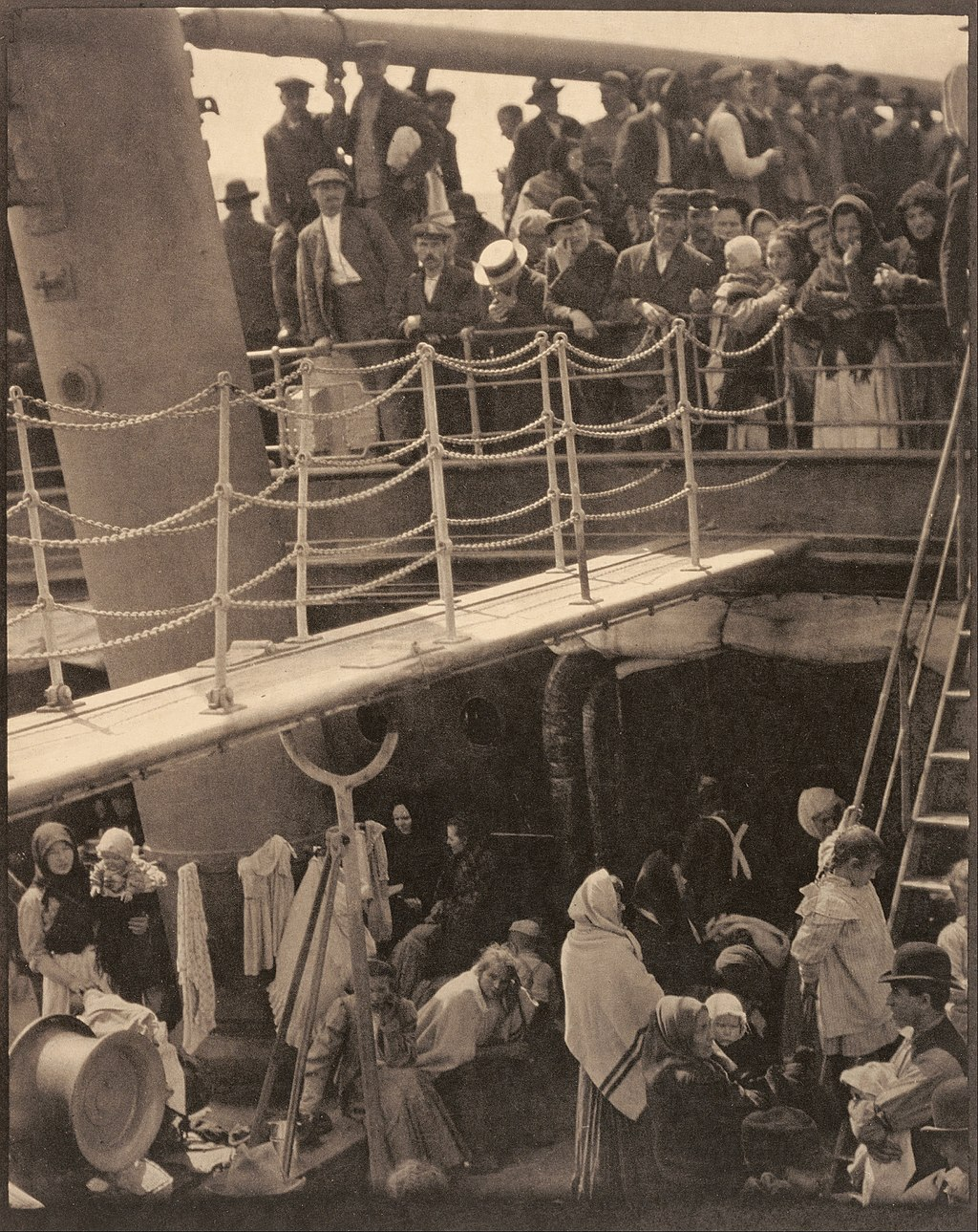 The Steerage  by Alfred Stieglitz. This version was published in 1915.