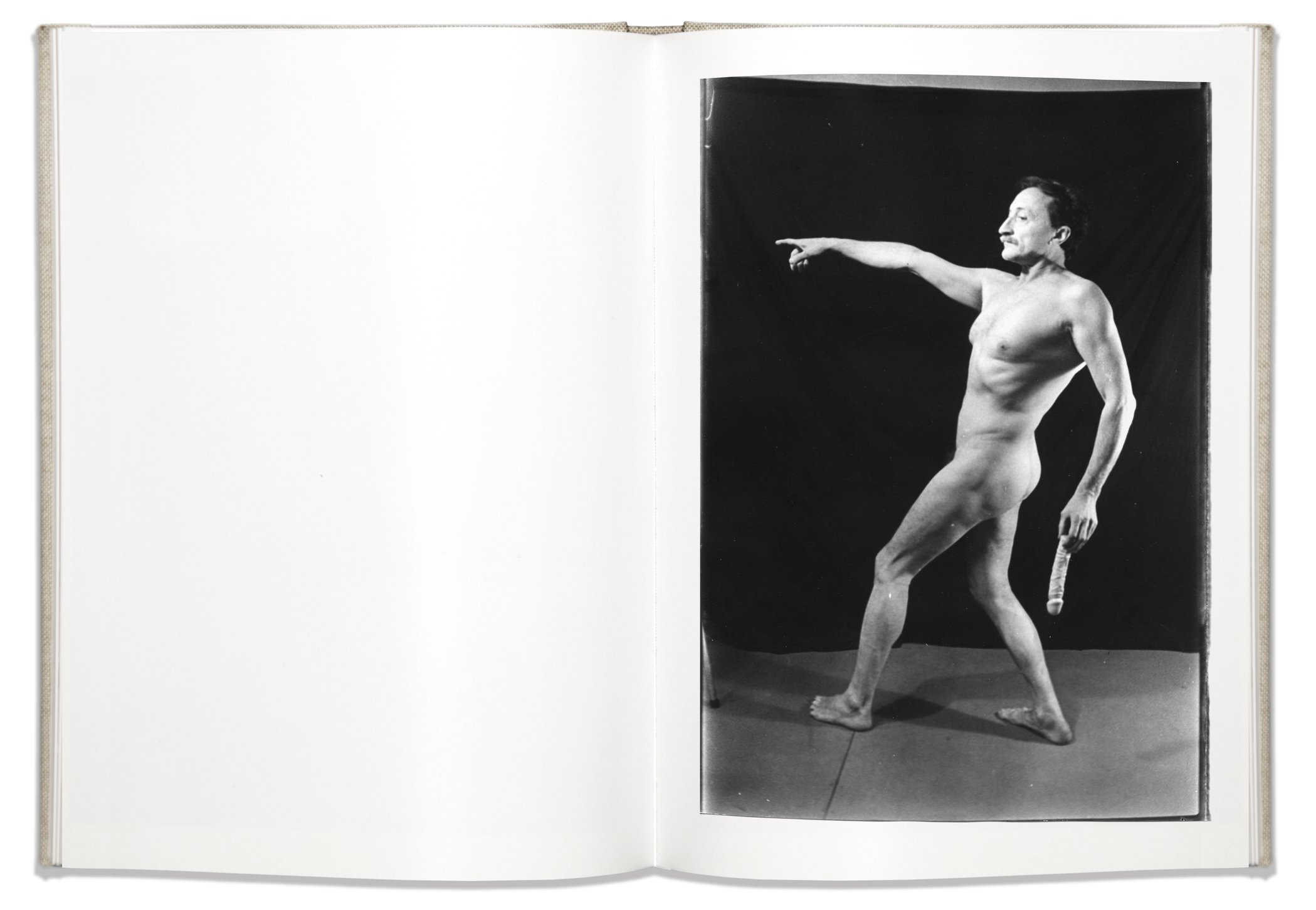 Spread from  I Am Not I , Boris Mikhailov
